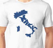 Italy Blue Unisex T-Shirt