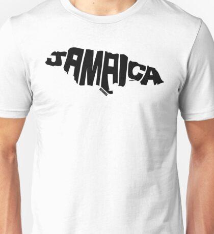 Jamaica Black Unisex T-Shirt