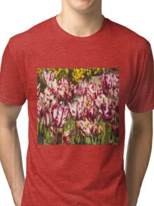 Tulips Galore Tri-blend T-Shirt