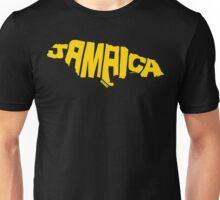 Jamaica Yellow Unisex T-Shirt