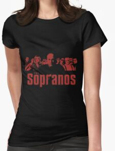 The Sopranos Womens Fitted T-Shirt
