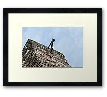 old walls Framed Print