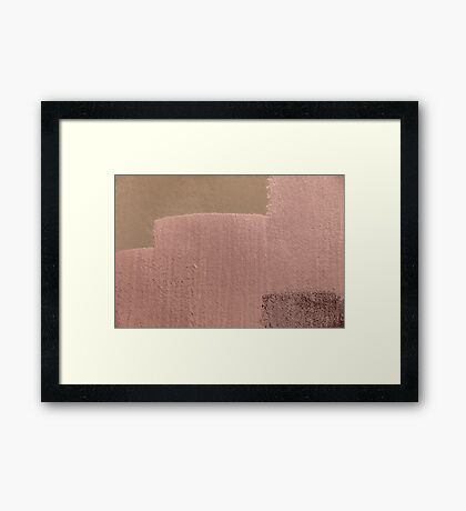 Brown and Brown on Brown Framed Print