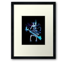 Space Pirate Girl Framed Print