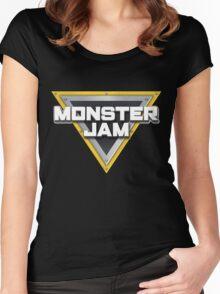 monster jam Women's Fitted Scoop T-Shirt