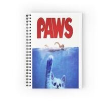 paws punch Spiral Notebook