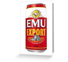 Emew Export Greeting Card