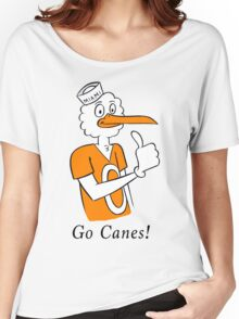 Go Canes! Women's Relaxed Fit T-Shirt