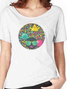 Geometric birds Women's Relaxed Fit T-Shirt