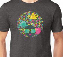 Geometric birds. Unisex T-Shirt