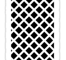 T Black Squares Sticker