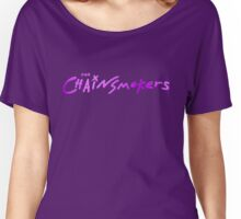 The Chainsmokers Purple Women's Relaxed Fit T-Shirt