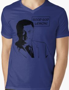 Good God Lemon Mens V-Neck T-Shirt