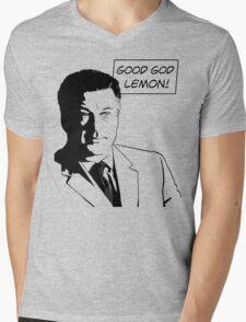 Good God Lemon Mens V-Neck T-Shirt