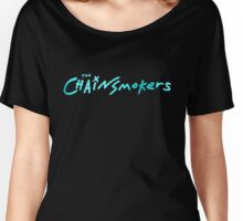 The Chainsmokers Cyan Women's Relaxed Fit T-Shirt