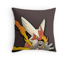Mega Blaziken 3DSprite Throw Pillow