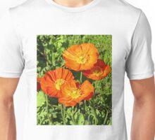Orange Poppies Unisex T-Shirt