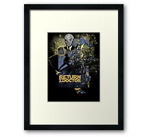 TIME LORD: Return of the Doctor Framed Print