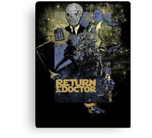 TIME LORD: Return of the Doctor Canvas Print