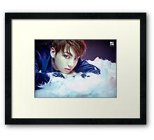 BTS/Bangtan Sonyeondan - Wings (JUNGKOOK) #1 Framed Print