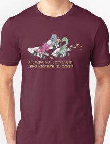 Dino Rigatoni Go Carts Unisex T-Shirt