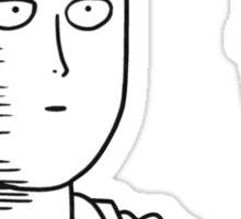 """One Punch Man Saitama """"OK"""" Design Sticker"""