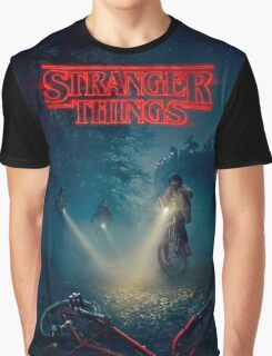 Stranger Things - Poster Graphic T-Shirt