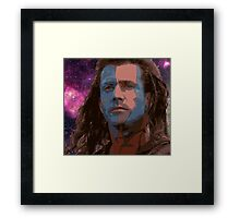 Highlander Galaxy Framed Print