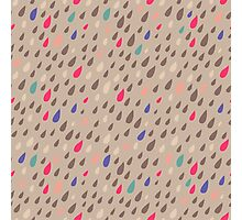 Funny Drops Photographic Print