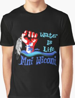 Water Is Life Stand With Standing Graphic T-Shirt