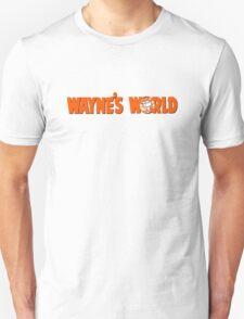 Wayne's World Orange Logo Unisex T-Shirt