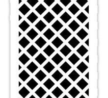I Black Squares Sticker