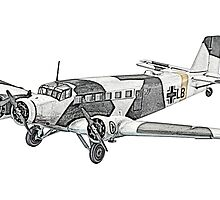 Junkers Ju 290 Airplane by surgedesigns