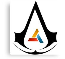 Assassins creed = Abstergo Industries Canvas Print