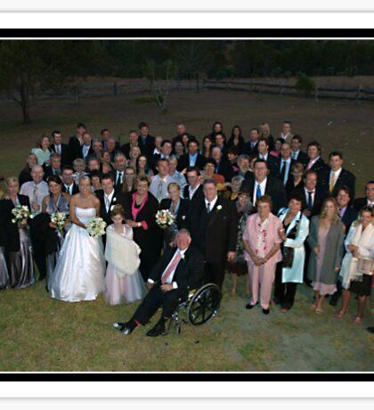 Wedding Group Sticker