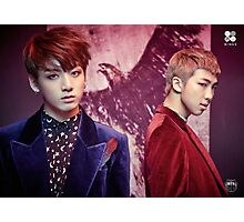 BTS/Bangtan Sonyeondan - Wings (JUNGKOOK & RM) #2 Photographic Print