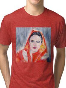 RAINY WOMAN Tri-blend T-Shirt