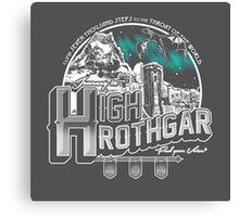 JOURNEY TO HIGH HROTHGAR Canvas Print