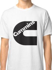 Cummins Black Logo Classic T-Shirt