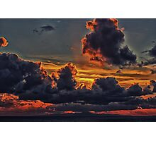 Isle Of Man Sunset Photographic Print