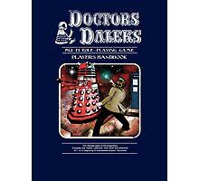 Doctors & Daleks Photographic Print