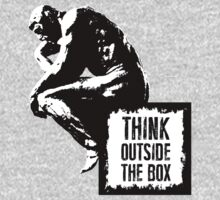 Think outside the box Baby Tee