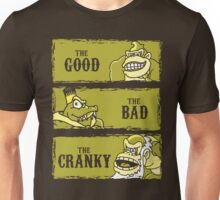 The Good, the Bad and the Cranky Unisex T-Shirt