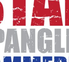 Lets Get Star Spangled Hammered Y'all Sticker