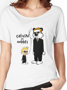 CALVIL And HOBBES Women's Relaxed Fit T-Shirt