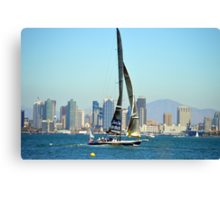 Stars and Stripes ~ America's Cup ~ San Diego Canvas Print