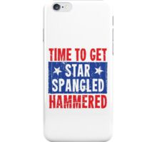 Time To Get Star Spangled Hammered iPhone Case/Skin