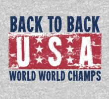 Back To Back World War Champs by Carolina Swagger