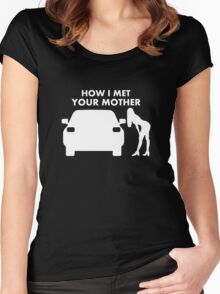 How I Met Your Mother T-shirts And Stickers Women's Fitted Scoop T-Shirt