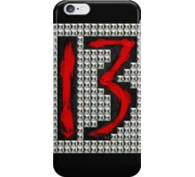 studded 13 iPhone Case/Skin